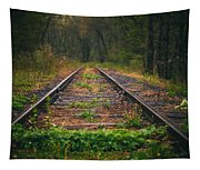 Following The Tracks Tapestry