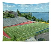 Football Field By The Bay Tapestry