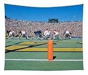 Football Game, University Of Michigan Tapestry