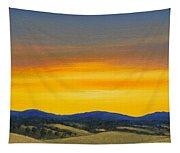 Foothills Sunrise Tapestry