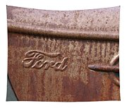 Ford Name Plate Tapestry