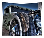 Ford Street Rod Tapestry