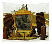Fordson Tractor Plentywood Montana Tapestry