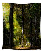 Forest Bench Tapestry
