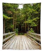 Forest Bridge Tapestry