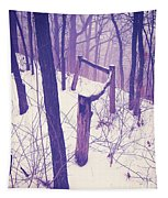 Forest Fence Tapestry