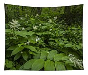 Forest Flowers Tapestry