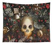 Forest Skull Pop Art Tapestry