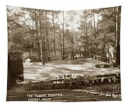 Forest Theater Carmel California  Circa 1930 Tapestry