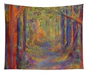 Forest Tunnel Tapestry