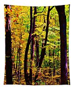 Forest Waves Tapestry
