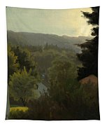Forested Hills Tapestry