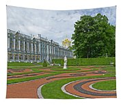 Formal Garden In Front Of The Palace Tapestry