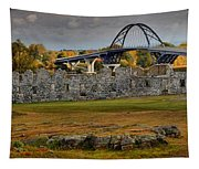 Fort Crown Point At Lake Champlain Tapestry