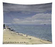Fort Gratiot Light House Beach Tapestry