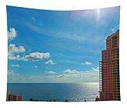 Fort Lauderdale Ocean View Tapestry