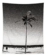 Fort Lauderdale Palm Tree Tapestry