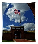 Fort Mchenry Main Gate Tapestry