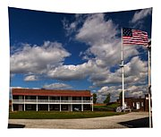 Fort Mchenry Parade Ground Barracks Tapestry