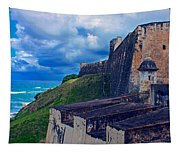 Fort San Cristobal Tapestry