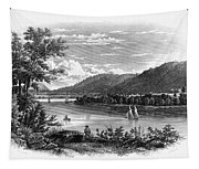 Fort Ticonderoga Ruins Tapestry