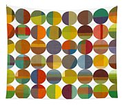 Forty Eight Circles 2.0 Tapestry
