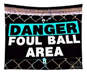 Foul Ball Area Tapestry