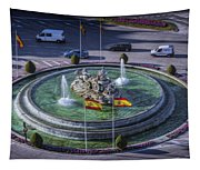 Fountain Of Cebeles II Tapestry