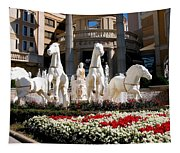 Fountain Statue  Tapestry