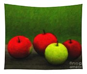 Four Apples Tapestry