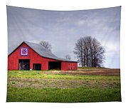 Four Corners Quilt Barn Tapestry