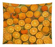 Four Persimmons Tapestry