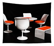 Four Tulip Chairs Tapestry