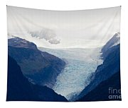 Fox Glacier On South Island Of New Zealand Tapestry