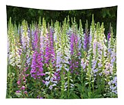 Foxglove Garden In Golden Gate Park Tapestry