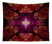 Fractal - Aztec - The All Seeing Eye Tapestry