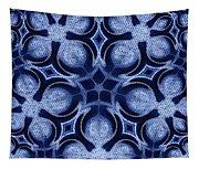 Fractal Floral Pattern Tapestry