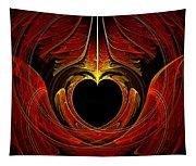 Fractal - Heart - Victorian Love Tapestry