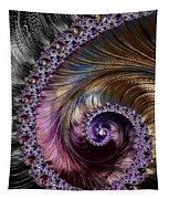 Fractal Spiral 2 - A Fractal Abstract Tapestry