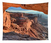 Framed Canyon Tapestry