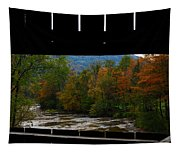 Framed Fall Foliage Tapestry