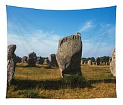 France Brittany Carnac Ancient Megaliths  Tapestry