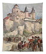 Francis I Held Prisoner In A Tower Tapestry