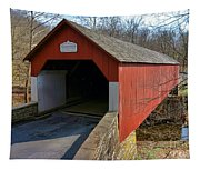 Frankenfield Covered Bridge Tapestry