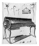 Franklin: Armonica, 1761 Tapestry
