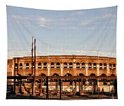 Franklin Field In The Morning Tapestry
