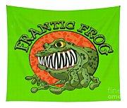 Frantic Frog Tapestry