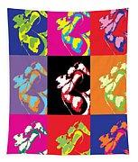 Freddie Mercury Pop Art Tapestry