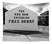 Free Derry Corner 9 Tapestry