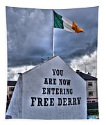 Free Derry Wall Tapestry